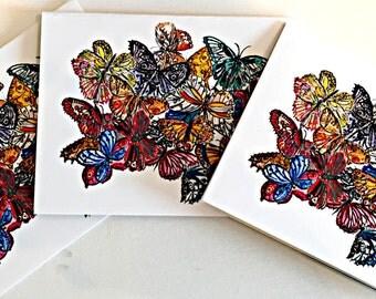 Butterflies #2, Notecards