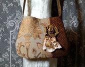 Gypsy Tapestry Bag - Boho Gypsy Upholstery Bag - Shoulder Bag -  Bohemian Gypsy Purse