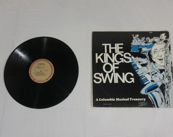 The Kings of Swing LP Music Record Album D450 Vintage 1968