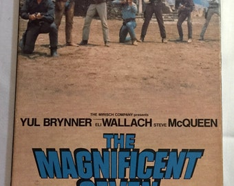 The Magnificent Seven (1960) VHS tape