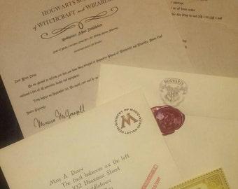"Harry Potter Custom ""Returned"" Acceptance Letter"
