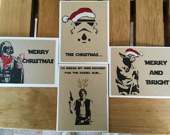 Star Wars Christmas Card set for every Star Wars Fan