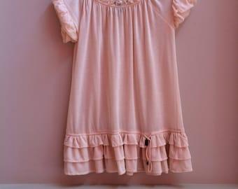80s mini baby doll dress