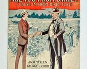 """Les partitions Vintage 1915 """"Etes-vous de Dixie ? Parce que je suis de Dixie trop""""Grand Format 11 « x 14 »"""