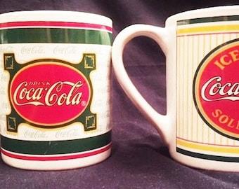 Coca Cola - 2 ceramic mugs