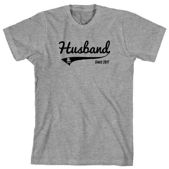 Husband Since 2017 shirt, newly wed, wedding gift, marriage - ID: 1790