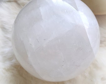 Calcite Crystal Ball