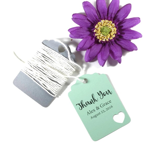 Minted Wedding Gift Tags : Green Wedding Tags Set of 20Mint Favor TagsWedding Gift Tags ...
