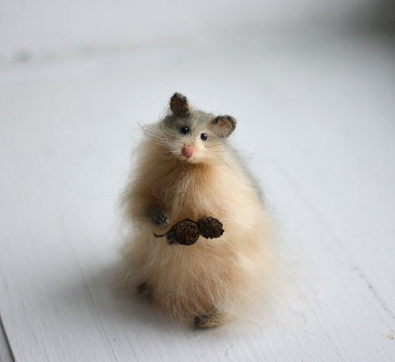 Hamster stuffed animal knitted hamster knitted animal stuffed