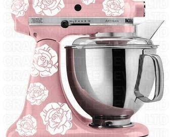 Rose Mixer Decal Set