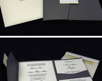 trifold wedding invitation  etsy, Wedding invitations
