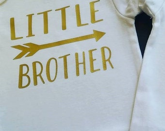 Little Brother Infant Body Suit Short Sleeve and Long Sleeve Available!