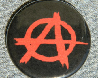Anarchy Button/Magnet/Bottle Opener