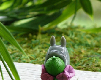 Micro Miniature Totoro Figurine