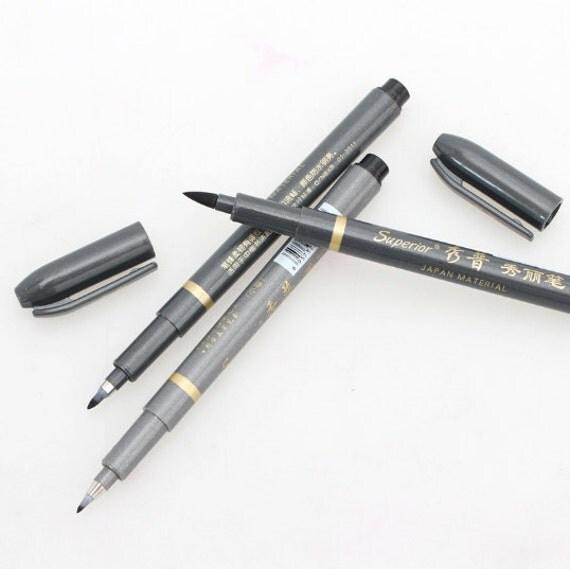 Art Markers Japan Calligraphy Brush Pen Set By Myartsupplies