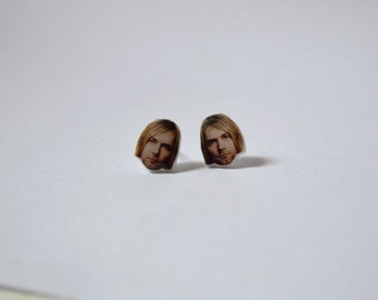Kurt Cobain Stud Earrings