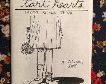 Tart Hearts: What Girls Think  - a valentine's zine//SALE