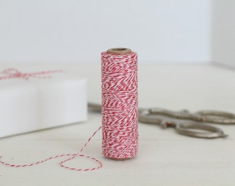 Red & Pink Baker's Twine 100 Yards