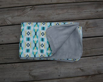 Modern Baby Blanket · · Aztec Print