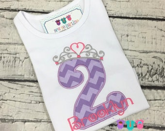pink and purole Princess Birthday Shirt - 1st birthday girls outfit - 1st Birthday Princess Shirt - Princess Birthday Outfit