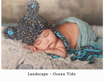 Baby Boy Hats, Baby Boy Bear Hat - Baby Boy Crochet knit Hat - Newborn Photo prop - Baby boy take home outfit - coming home outfit - infant