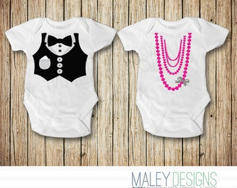 Twin Onesies®, Twin Baby Clothes, Twin Boy and Girl Outfits, Matching Twin Outfits, Twin Baby Shower Gifts for Twins, Brother Sister Outfits