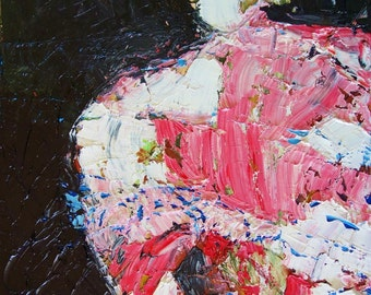 KAFTAN DRESS - Original Oil Painting - Modern Art - Contemporary Art - Fashion Style - Foxxart