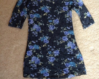 Lace Floral Tshirt