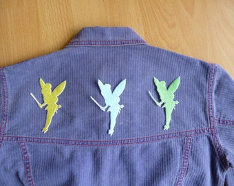 Tinkerbell Silhouette (single design) iron-on patch