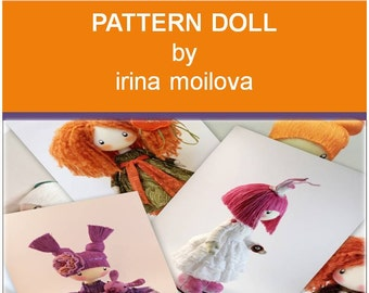 PDF Pattern, How To Make Doll, Cloth Doll Pattern, Make Your Own Doll, Doll Body Pattern, Rag Doll Pattern, Doll Making, ONLY Doll Pattern