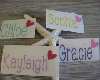 Name Decal - Personalized Name Decal - Monogram Decal - Custom Name Decal - Name Car Decal - Monogram Car Decal - Personalized Decal - Name