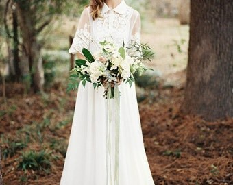 Dress SS14 | Wedding dress Boho wedding dress Romantic Wedding Dress vintage wedding dress elegant wedding gown