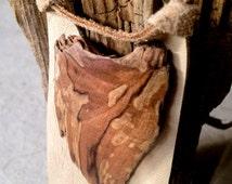 Gnarled Wood Necklace