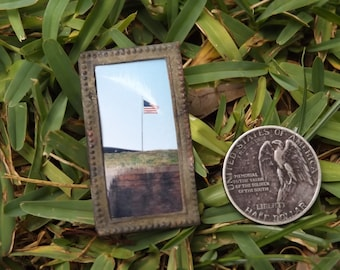 Dug Early 1800s Picture Frame - Recovered in White Cloud, KS - Historic Steamboat Town Relic, Western Frontier, True RARE Piece of Americana