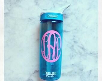 Personalized CamelBak Eddy Water Bottle .6L {Rain}