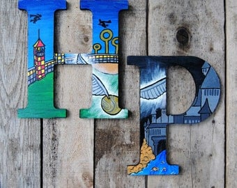 Harry Potter Inspired Wall Decor Letters