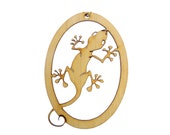 Gecko Ornament - Gecko Ornaments - Gecko Gift - Gecko Gifts - Lizard Ornament - Lizard Gifts - Lizard Ornaments - Personalized Free