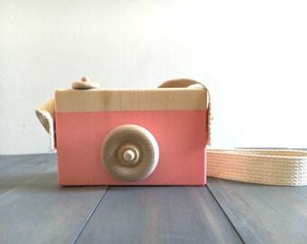 Wooden Toy Camera | Creative Play | Montessori Teaching | Waldorf School | Natural Toys