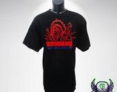 Demonology Warlock T-shirt, World of Warcraft Inspired, Wow DPS T-shirt