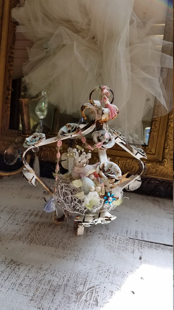 Bird nest decor decorative table top decor by for The nest home decor