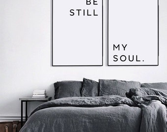 Be Still My Soul Poster, Be Still My Soul Print, Valentines day, Be Still My Soul Posters, Valentines day printable, Gift for him