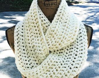 Infinity Scarf Crochet Scarf Women's Accessories Custom Eternity 72 Colors Options
