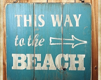 """Vintage Style Sign 