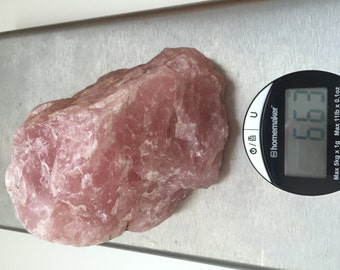 Rose Quartz Rough Raw Chunk