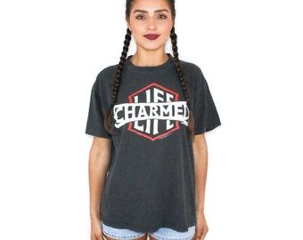 1990 Billy Idol Charmed Life Tour T Shirt