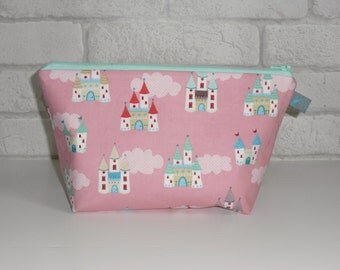 Children's Wash Bag with Fairy Princess Castle design