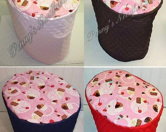 Pink Cupcakes Cover for Keurig K2.0 K200/250 Coffee Brewing System (5 Options Available)