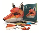 Fox Mask Book + Free Digital Mask