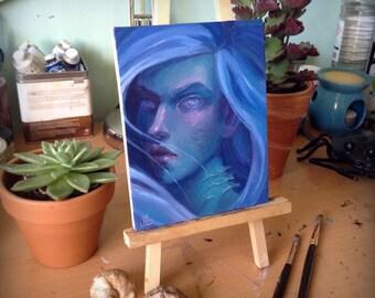 Blue - Original Oil Painting