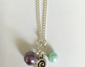 Little Mermaid Shell Necklace